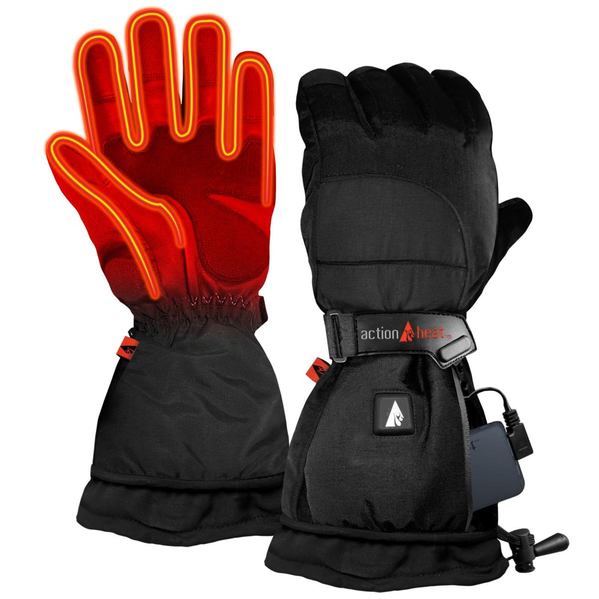 ActionHeat 5V Battery Heated Snow Gloves - Women's - Back