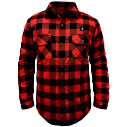 Open Box ActionHeat 5V Battery Heated Flannel Shirt - Heated