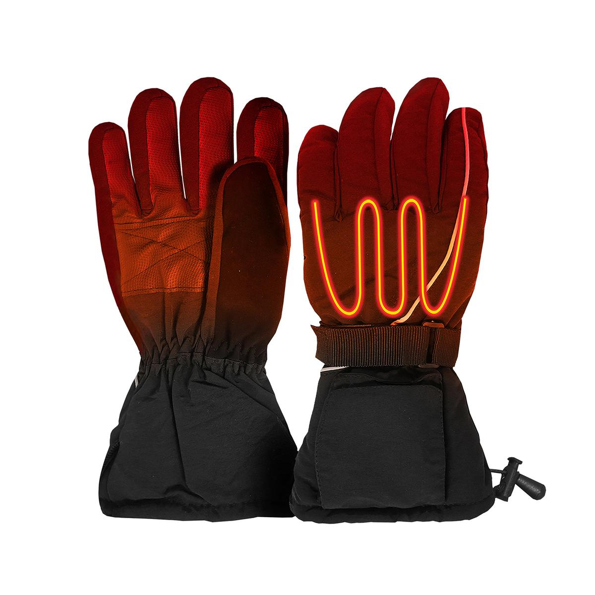 Open Box ActionHeat Men's AA Battery Heated Gloves - Back