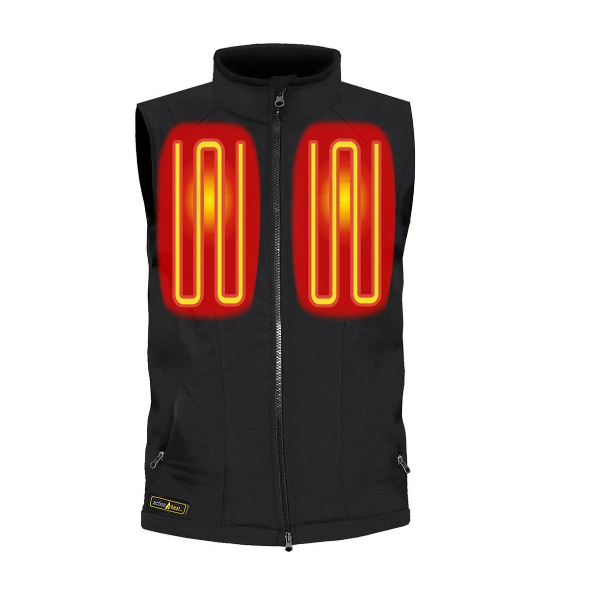 Open Box ActionHeat 5V Battery Heated Softshell Vest - Women's - Front