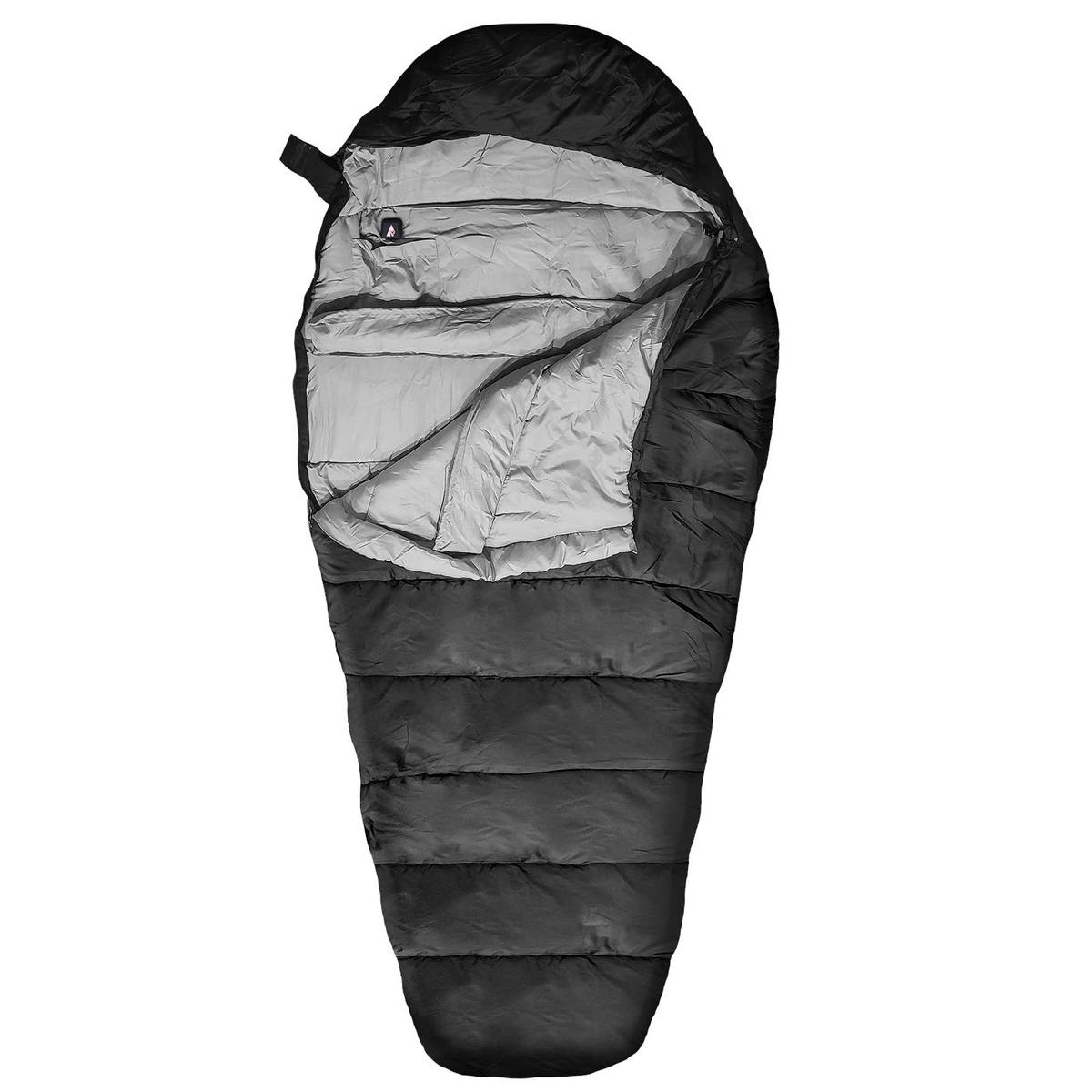 ActionHeat 5V Battery Heated Sleeping Bag - Front