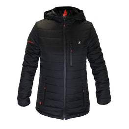 Open Box ActionHeat 5V Battery Heated Insulated Puffer Jacket W/ Hood - Women's - Heated