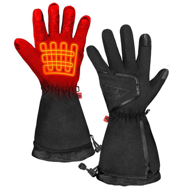 ActionHeat AA Men's Fleece Heated Gloves 2.0 - Front