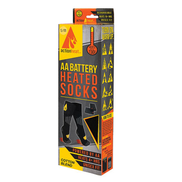 Open Box ActionHeat AA Heated Socks - Front
