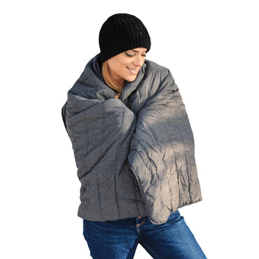 ActionHeat 7V Battery Heated Throw Blanket - Front
