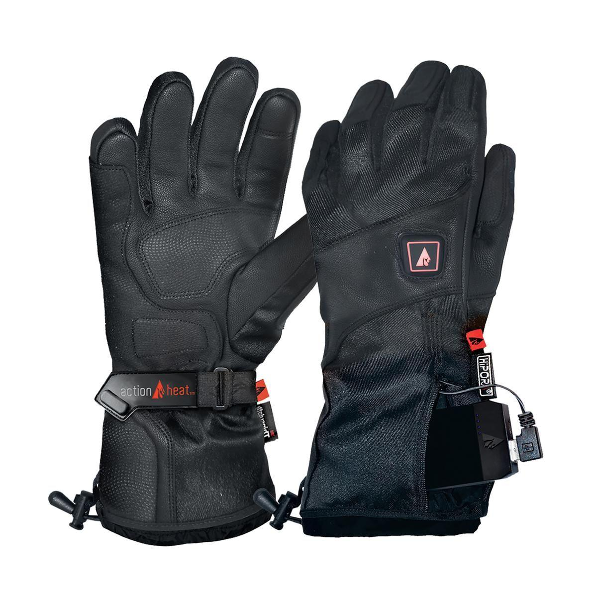 Open Box ActionHeat 5V Premium Heated Gloves - Men's - Heated