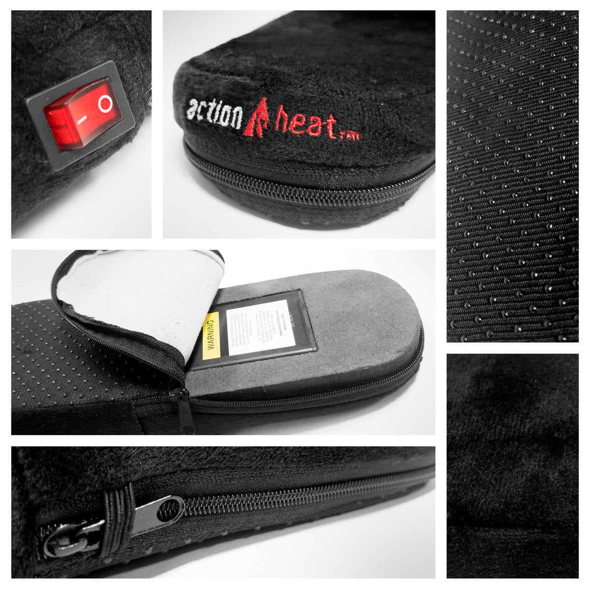 ActionHeat AA Battery Heated Slippers - Info