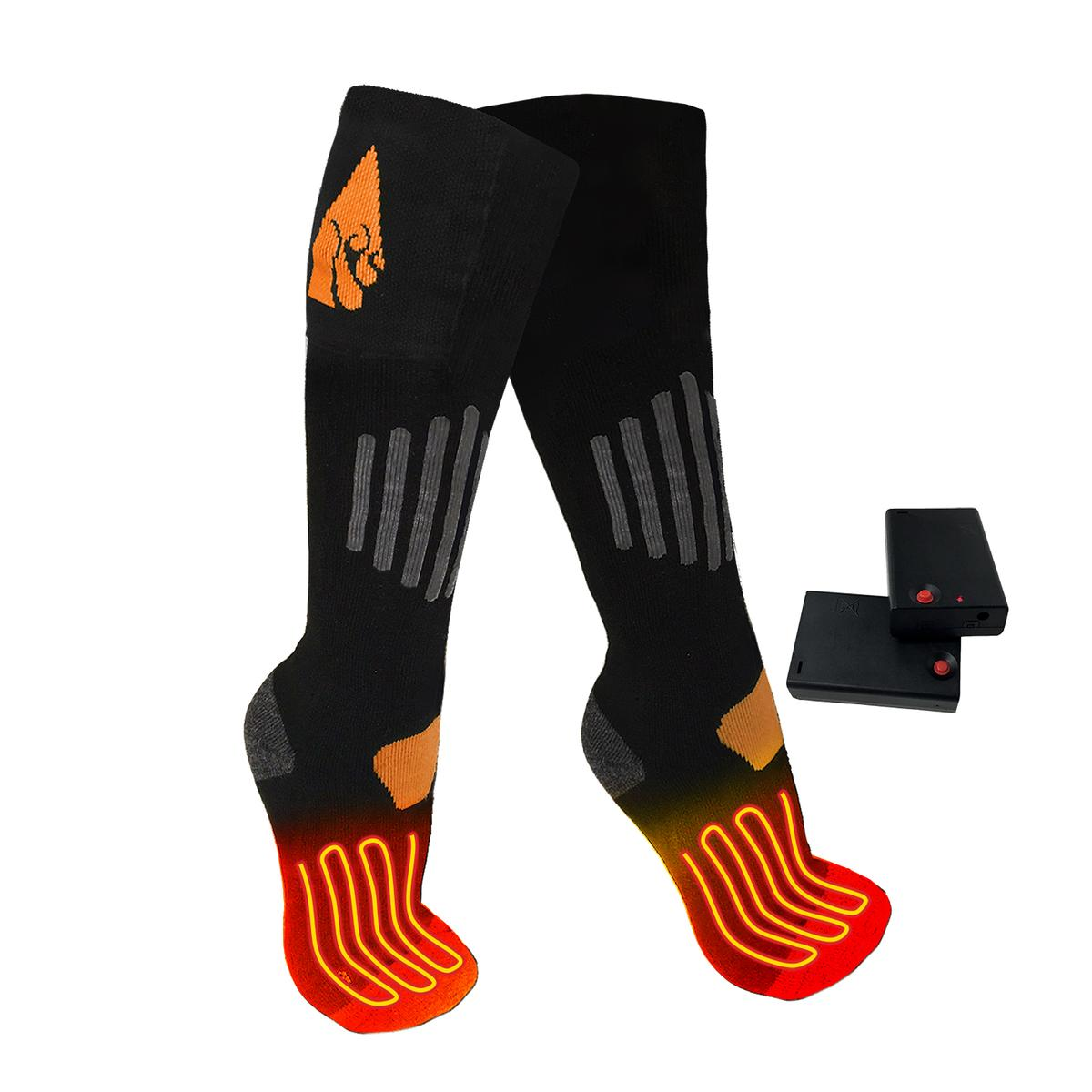 Open Box ActionHeat AA Heated Socks - Heated