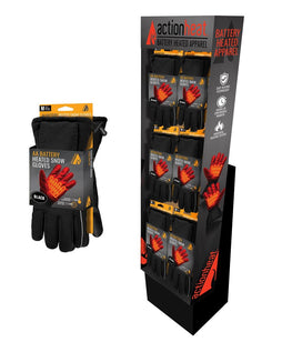 ActionHeat AA Gloves 12-piece display - Info