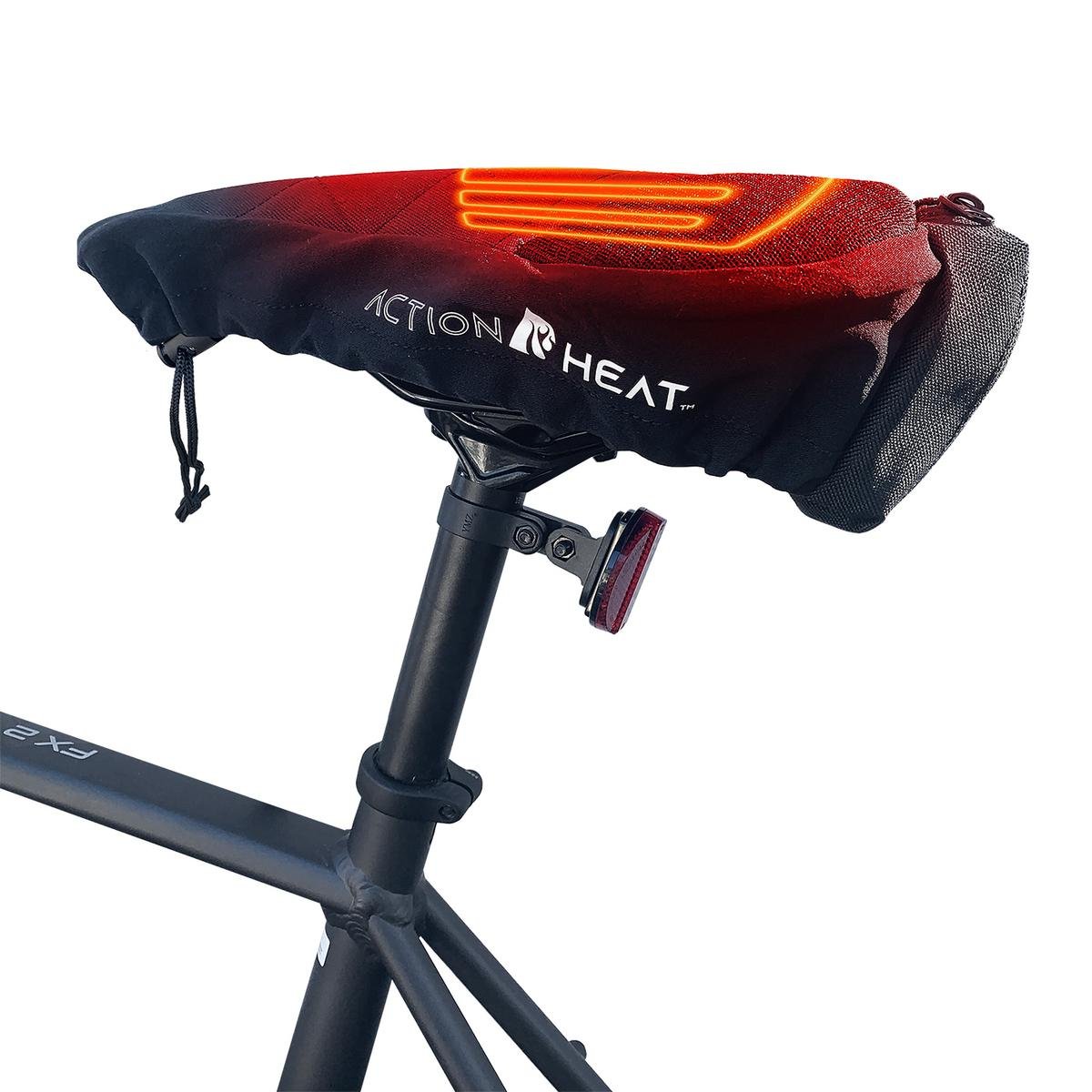 ActionHeat 5V Battery Heated Bicycle Seat - Info
