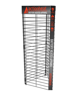 ActionHeat 3-Way Metal Grid Display - Front