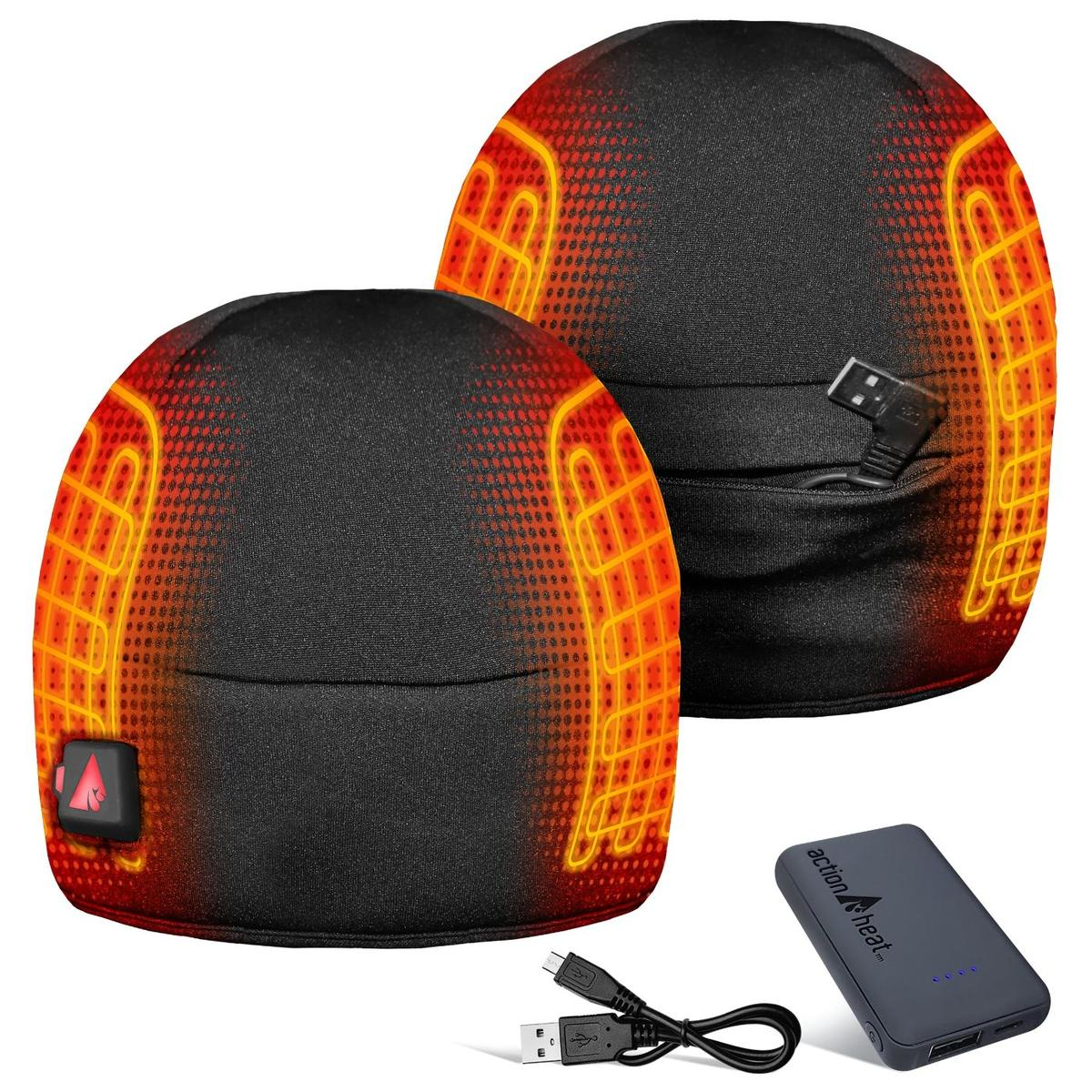 ActionHeat 5V Battery Heated Winter Hat - Back