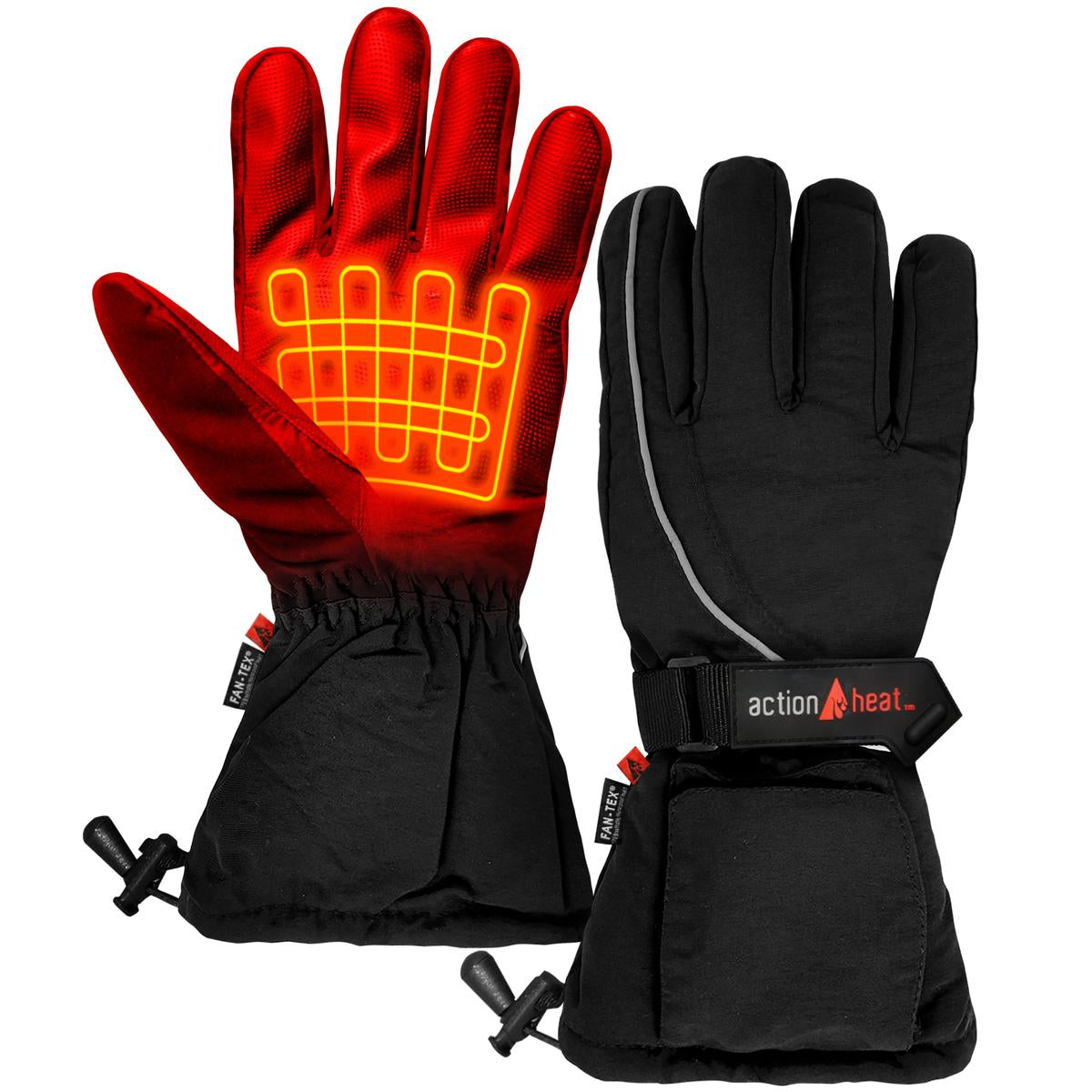 ActionHeat AA Battery Heated Gloves - Men's - Back