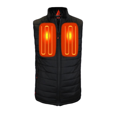 Open Box ActionHeat 5V Battery Heated Insulated Puffer Vest - Men's - Front