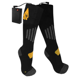 ActionHeat AA Battery Heated Socks - Cotton - Heated