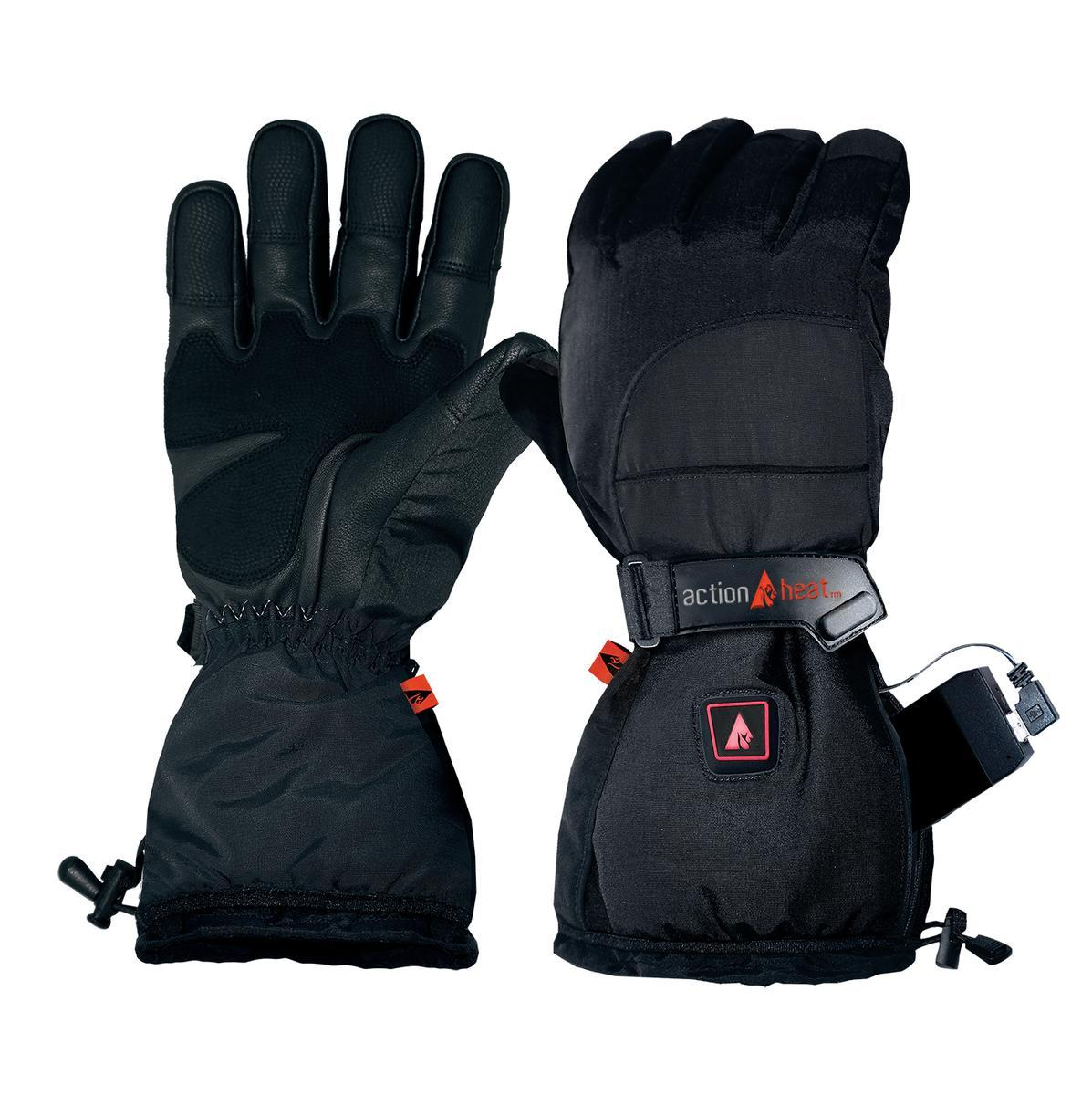 Open Box ActionHeat 5V Battery Heated Snow Gloves - Men's - Heated