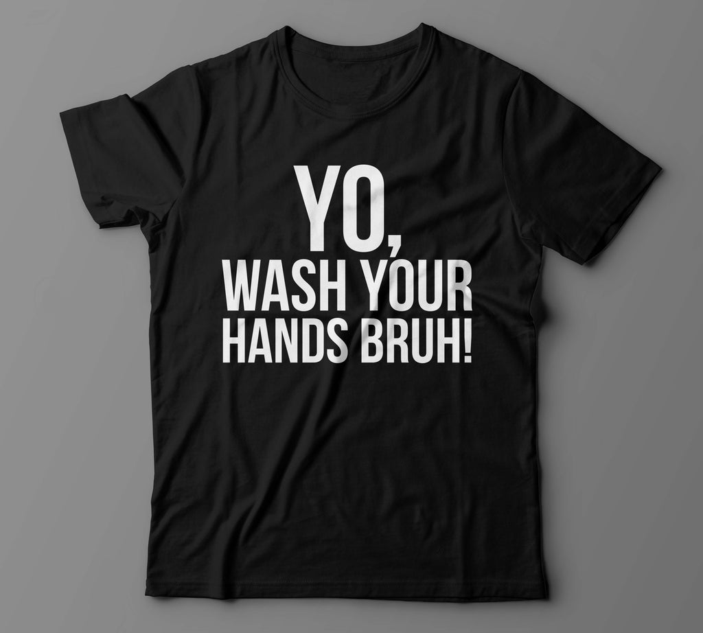 Wash your hands (Unisex Relaxed Fit)