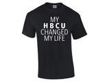 """My HBCU Changed My Life"" Crew Neck (Women's Fitted Tee)"