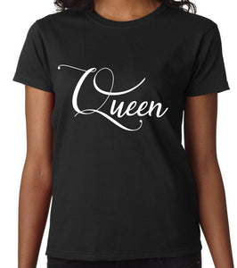 """QUEEN"" - Crew Neck Custom Tee"