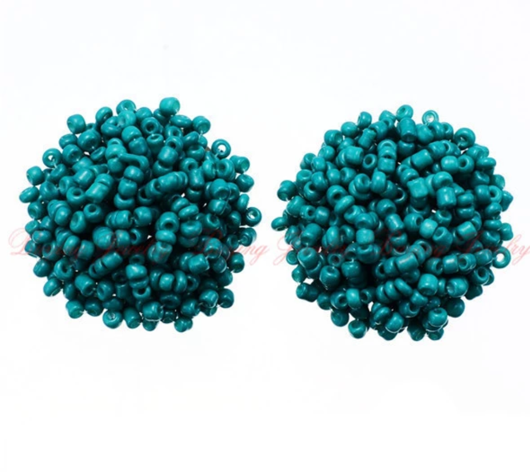 FLOSSY Studs -Turquoise