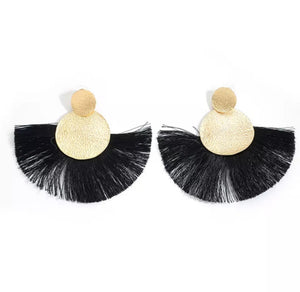 Black-Ice Tassels
