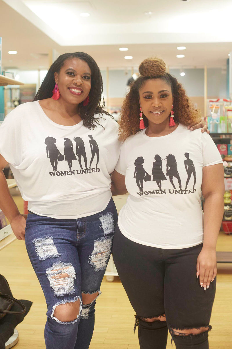 Women United - White fitted tee