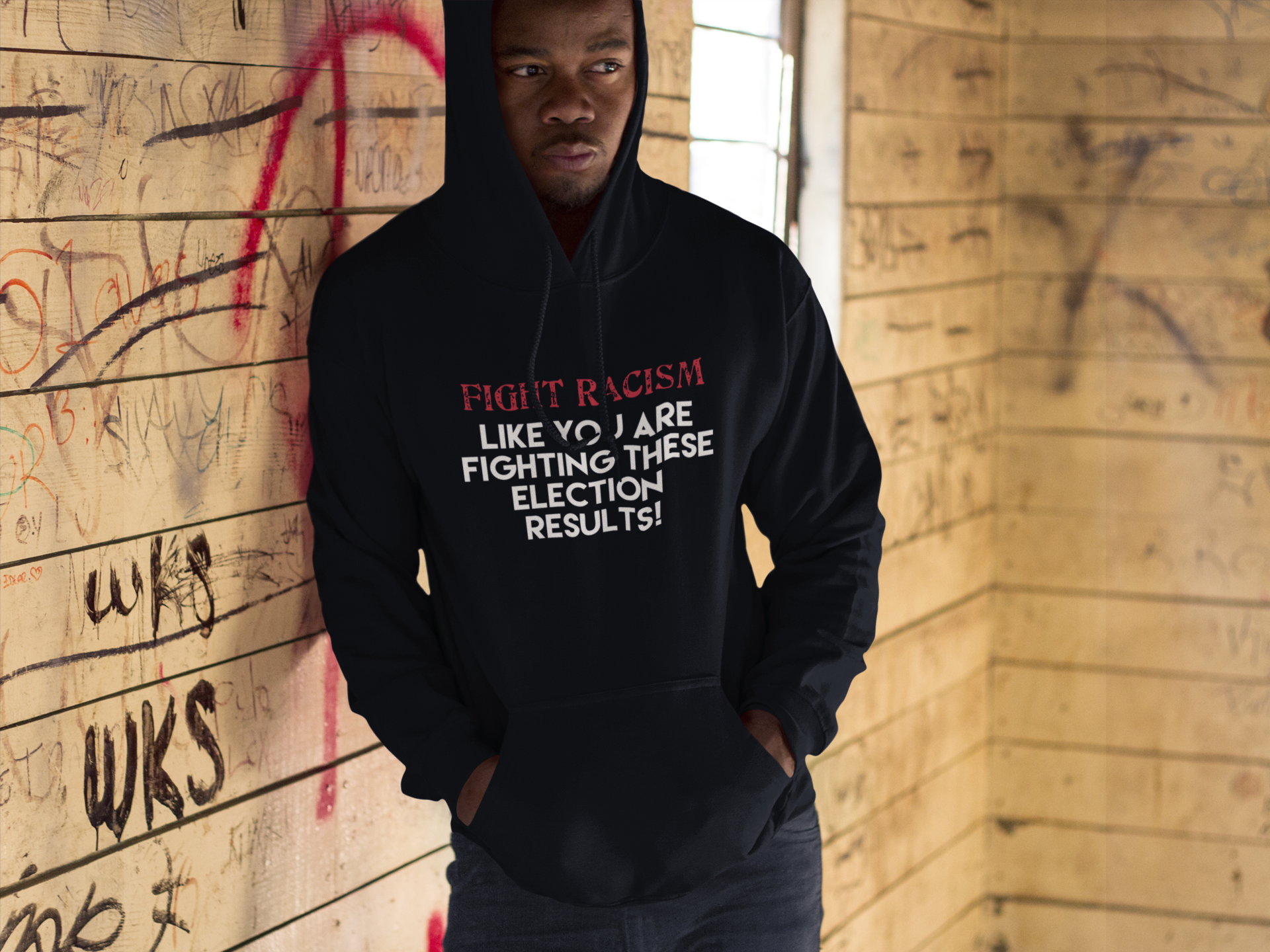 Fight Racism (Hoodie)