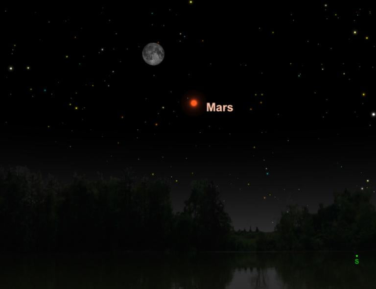 July 27, 2018: Mars at Its Brightest