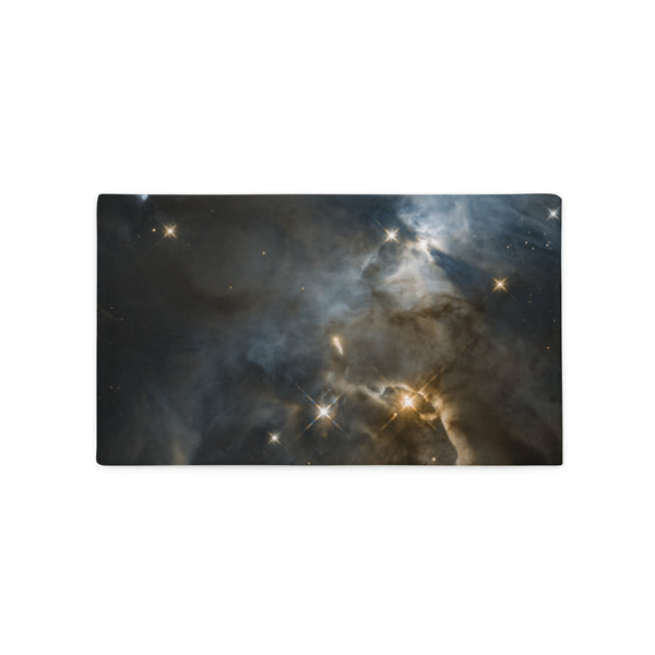 Galaxy Hubble Cosmic Bat Shadow Pillow Case