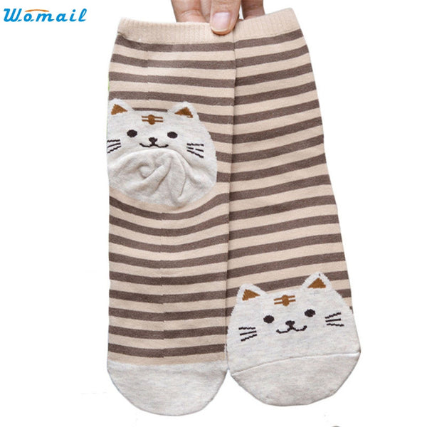 Cute Kitten Socks