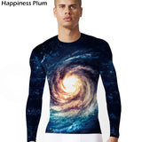 Long Sleeve Spiral Galaxy Shirt - Merchant of the Universe