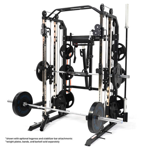 Monster G3 Power Rack, Functional Trainer & Smith Machine Combo
