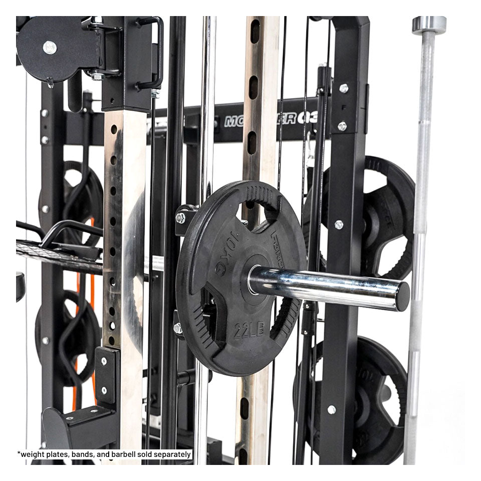Force usa g3 functional trainer power rack & smith machine combo
