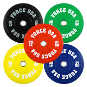 Image of Force USA Pro Grade Colored Bumper Plates - LBS
