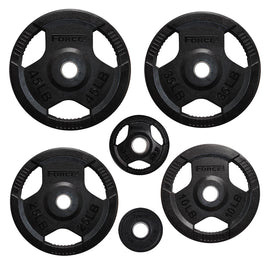Image of Force USA Rubber Coated Olympic Weight Plates - LB
