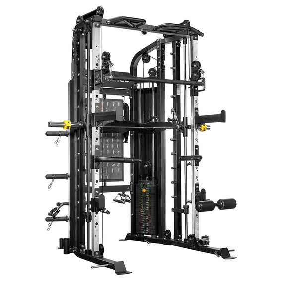 Force usa g monster power rack functional trainer smith machine combo