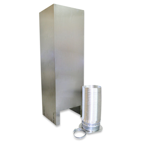 Extension Kit for Island Hood Chimney Venting Kit - Stainless Steel