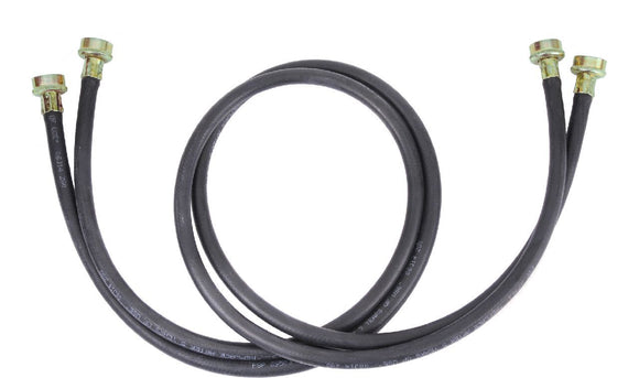 5'L Washer Hose Black Basic Washer Hose