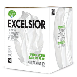 Excelsior HE Laundry Detergent 333 Loads Fresh Scent Refill