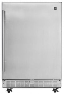"Silhouette Aragon 24"" Integrated Outdoor All Refrigerator"