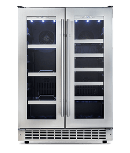 Silhouette French Door Wine Cooler