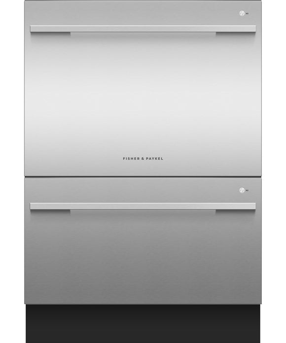 Fisher & Paykel Double DishDrawer™, 14 Place Settings, Sanitize (Tall)