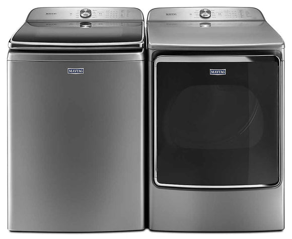 Maytag Top Load Pair - Chrome Shadow (Floor Model)