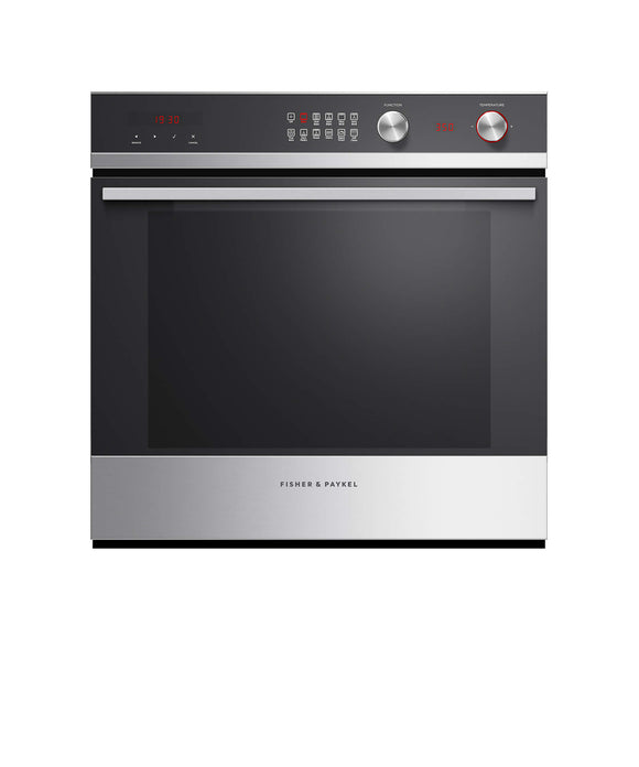 "Fisher & Paykel Built-in Oven, 24"", 3 cu ft, 11 Function, Self-cleaning"