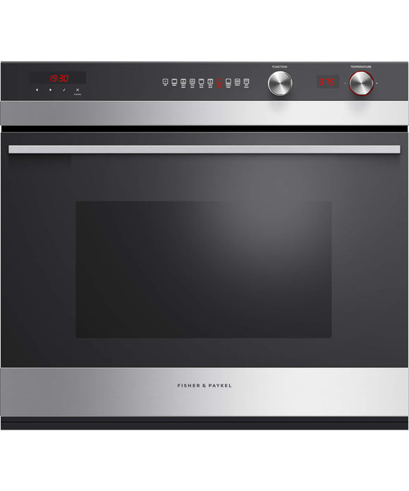 "Fisher & Paykel Built-in Oven 30"", 4.1 cu ft, Self-cleaning"