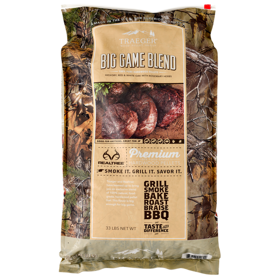 Traeger Big Game BBQ Hardwood Pellets