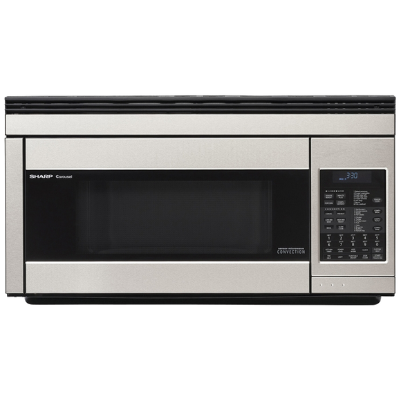 Sharp Oven the Range Microwave Oven - Stainless Steel