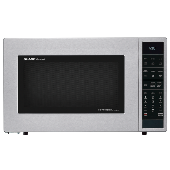 Sharp Convection Microwave Oven - Stainless Steel