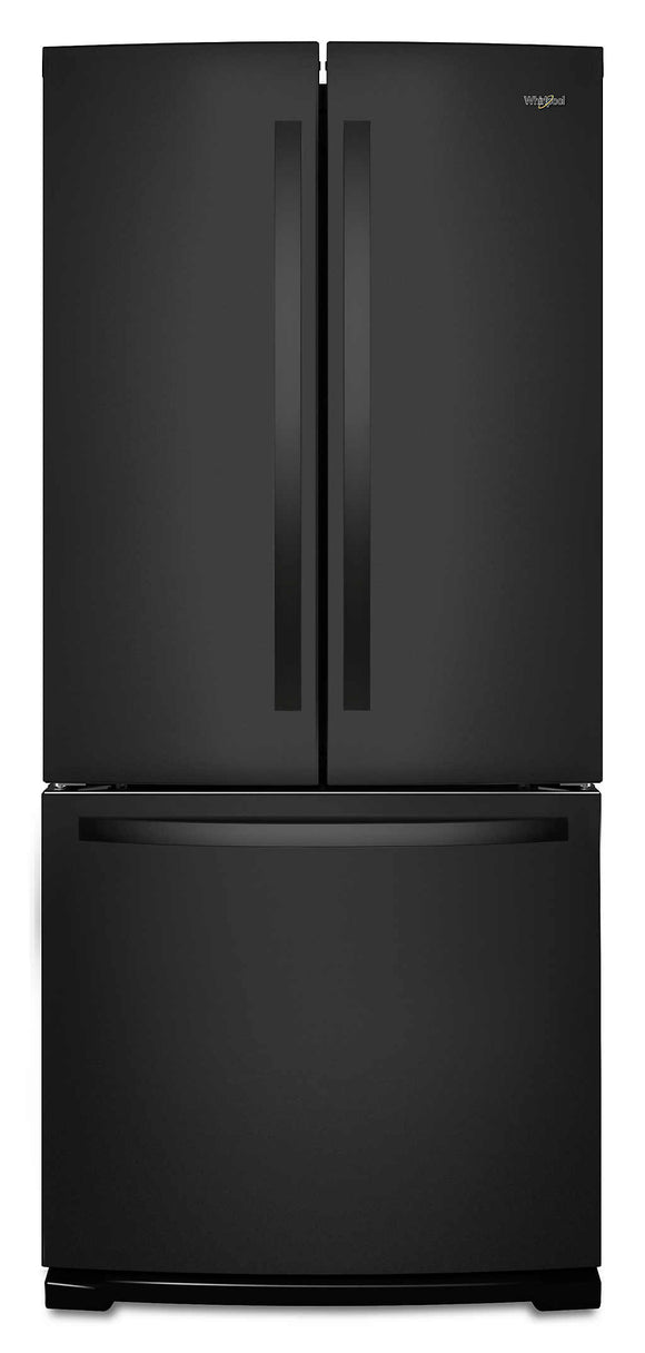Whirlpool French Door Fridge - Black