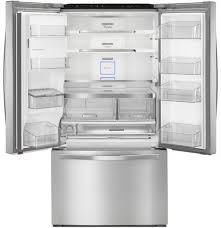 36 Inch French Door Refrigerator - Stainless Steel